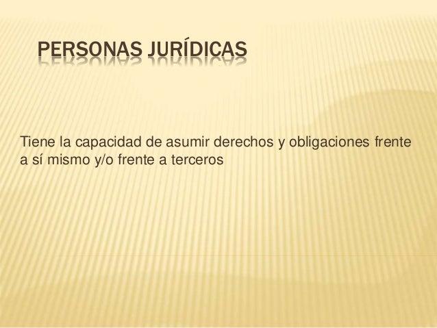 tema 2 Personas jurídicas