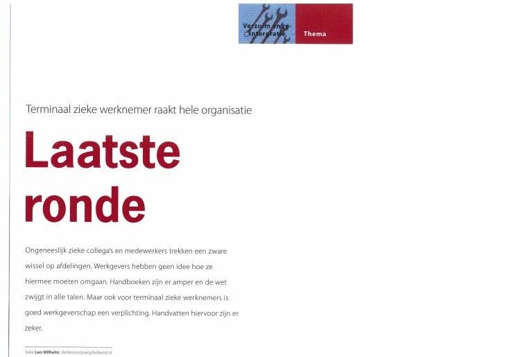 Personeelbeleid 2011 02 Laatste Ronde Wilhelm