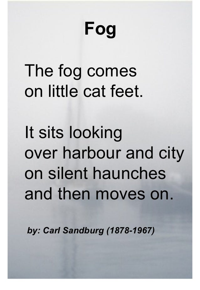 carl sandburgs view of language essay Carl sandburg state historic site was the which often use nonsense language poet and artist dorothea tanning, carl sandburgs boyhood home is now.