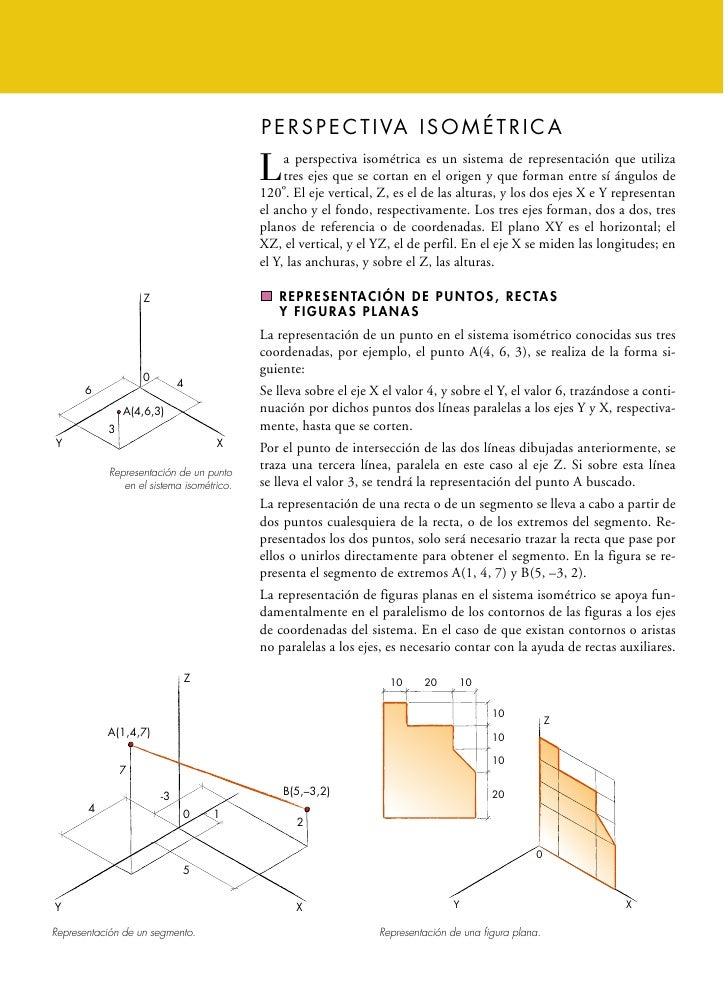 P E R S P E C T I VA I S O M É T R I C A                                               a perspectiva isométrica es un sist...