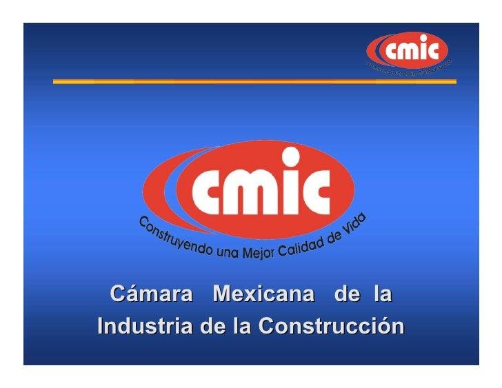 Perspectiva de la industria de la construcción ante los cambios económicos del país.
