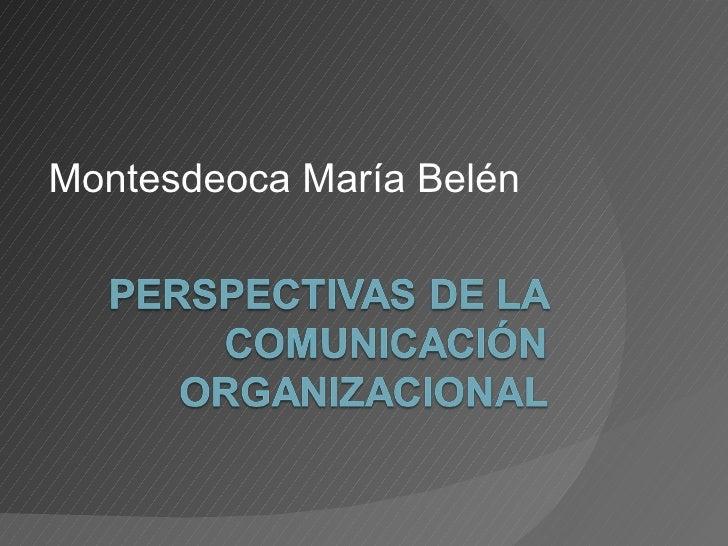 Montesdeoca María Belén