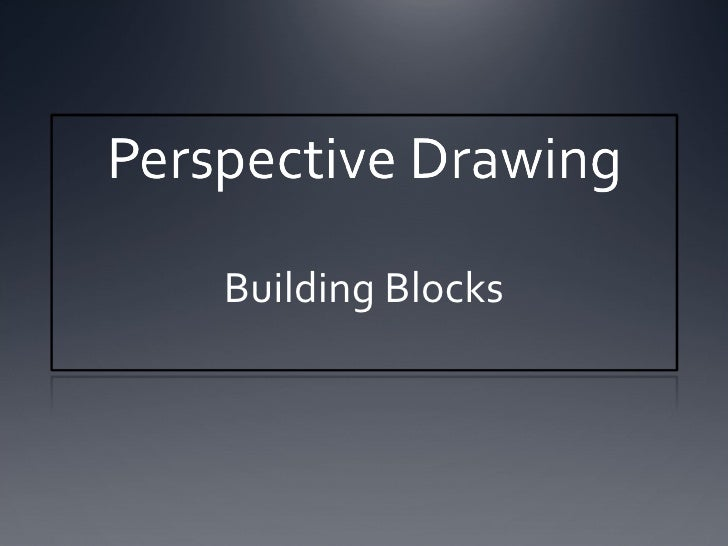 Perspective Lesson