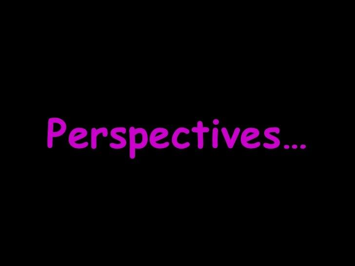Perspective Perspectivas