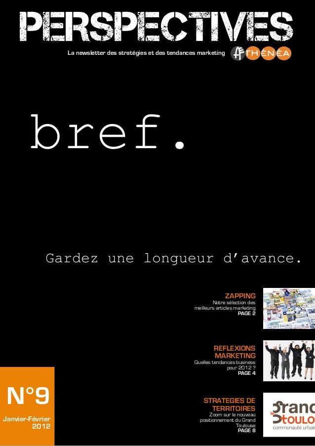 Perspectives   n°9 - janv-fev2012