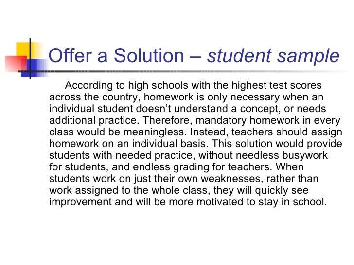 conclusion according essay