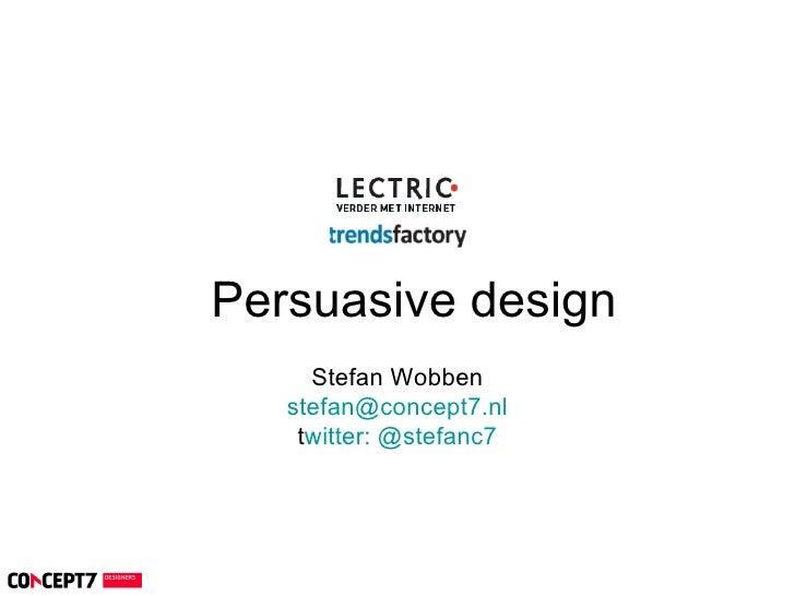 Trendsfactory 20190 Persuasion - persuasive design trends