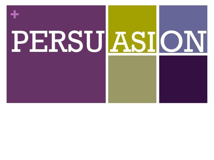 Persuasion Slideshow