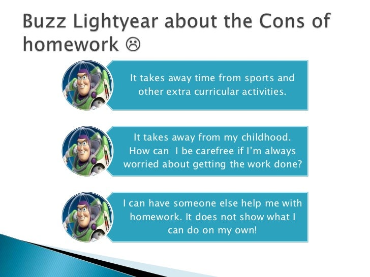 advantages and disadvantages of homework This lesson plan gives parents insight into the 10 benefits of homework so they can compete with the distractions of media.