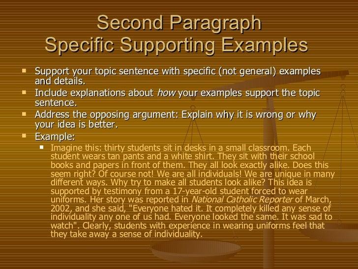 Persuasive Essay 8th Grade