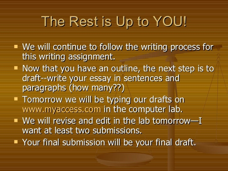 essay writing for 8th graders