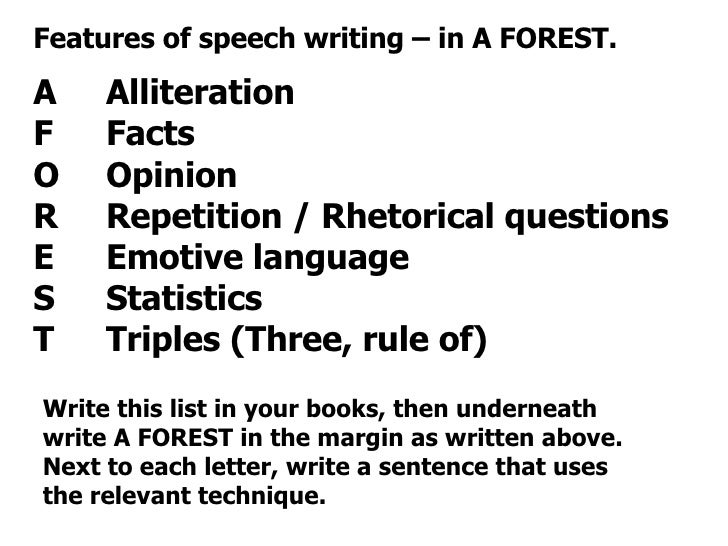 Forestry writing school papers