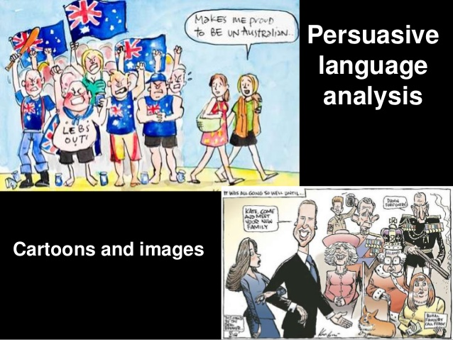 Politcial cartoon analysis essay