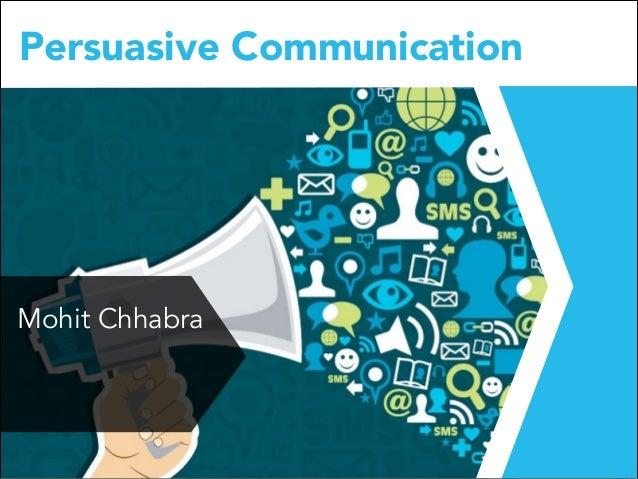 Persuasive Communication at IILM, Gurgaon