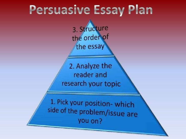 good topics to write persuasive essays on