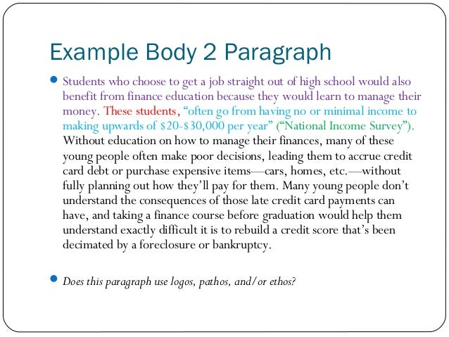 2 paragraph essay template download