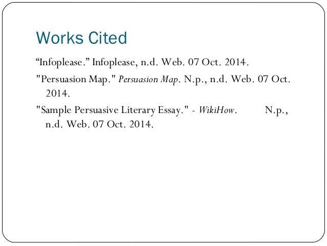 persuasive essay flow map