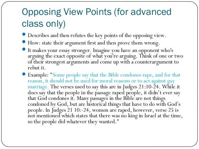 Persuasive Essay for Literary Class?