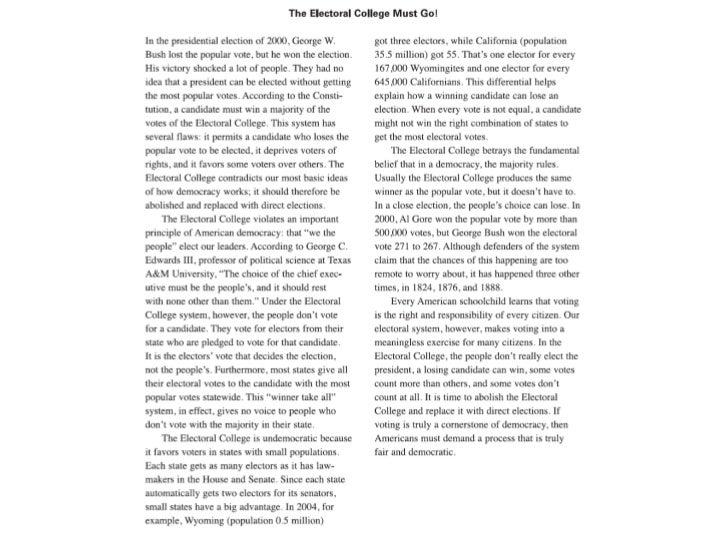 identifying a pursuasive essay
