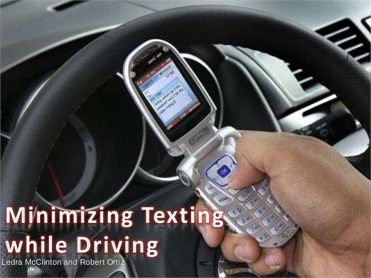 PSA texting while driving
