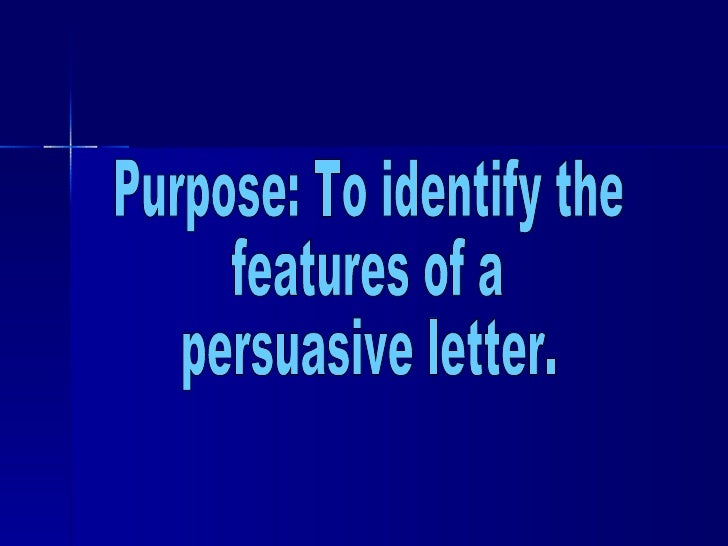 persuasive writing features Persuasive writing is writing where you try to convince someone to take a particular issue on a point of voice here are some persuasive writing examples.