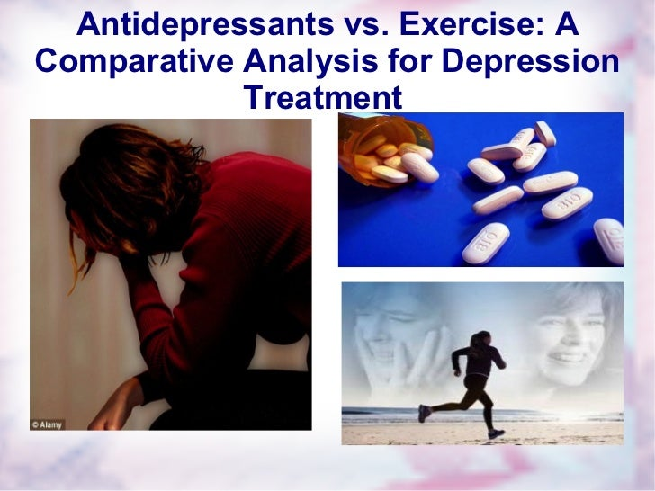 Antidepressants vs. Exercise: A Comparative Analysis for Depression Treatment