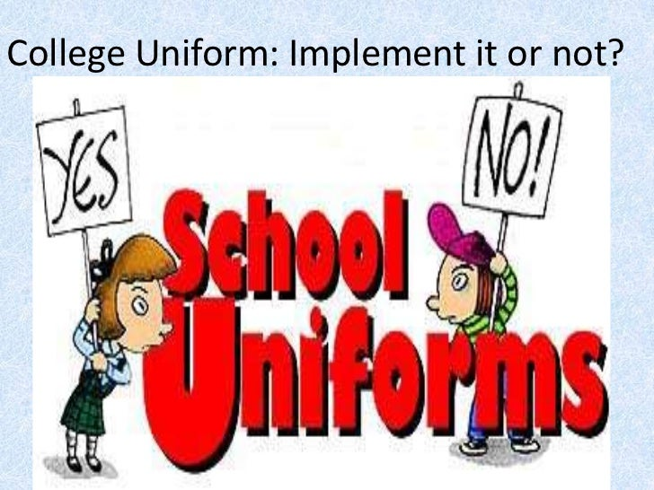 persuasive essay should students wear uniforms
