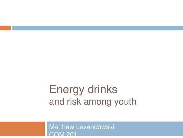Energy Drinks Overloaded