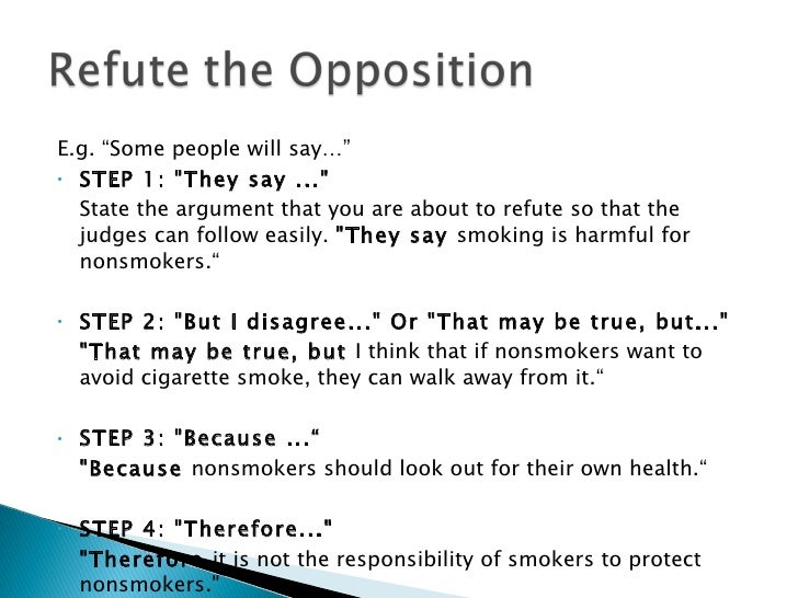 Argument Essay About Smoking