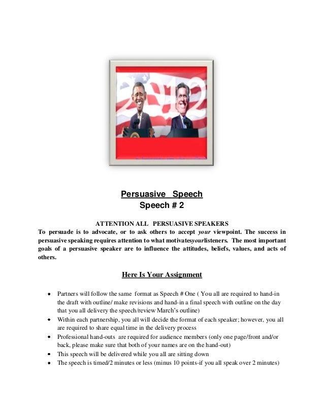 Persuasive Essay Outlines