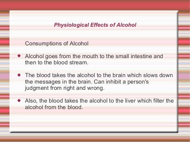 Persuasive speech alcohol
