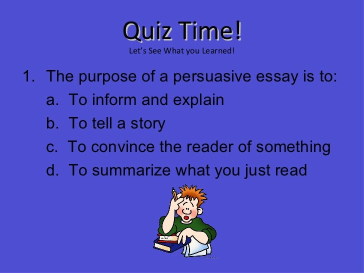 Which is The better topic for an 8th grade persuasive essay?