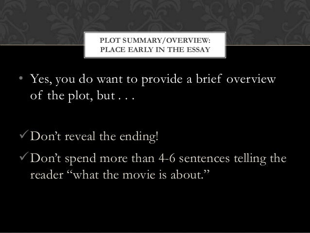 essay questions documentary film