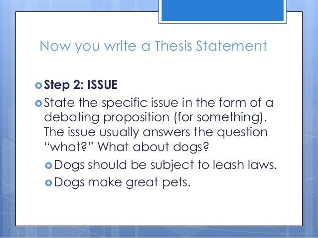 Steps To Writing A Persuasive Essay