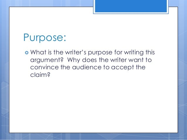 Questions to ask yourself when writing a persuasive essay