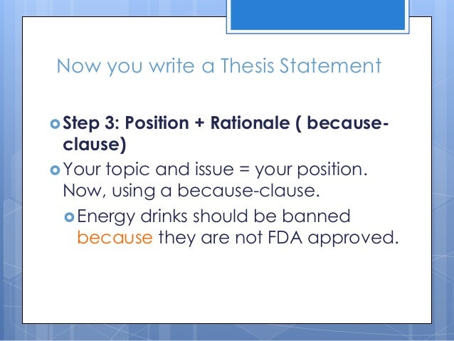 why energy drinks should be banned 3 essay Unlike most editing & proofreading services, we edit for everything: grammar, spelling, punctuation, idea flow, sentence structure, & more get started now.