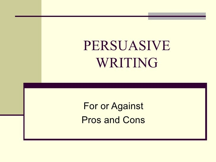 Writing persuasive speeches - PowerPoint PPT Presentation