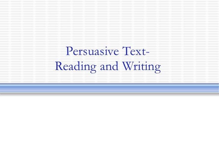 Argument essay examples ppt