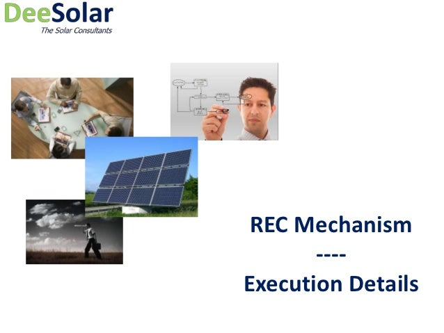 Pert chart execution for REC