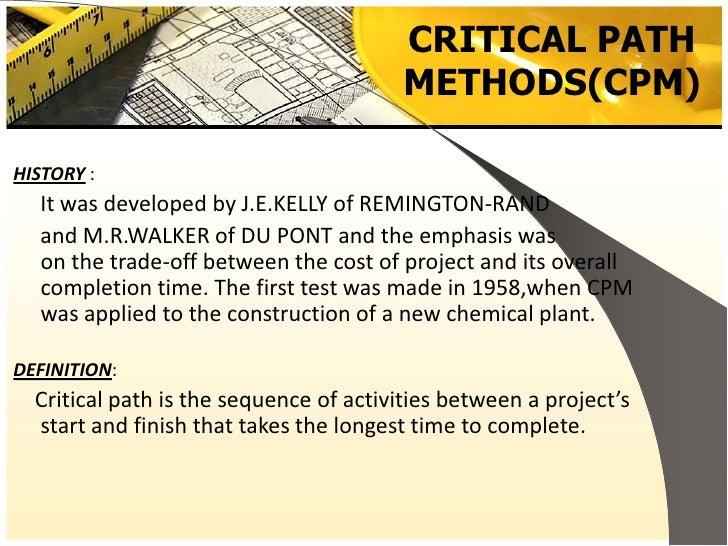 Pert  U0026 Cpm Project Management