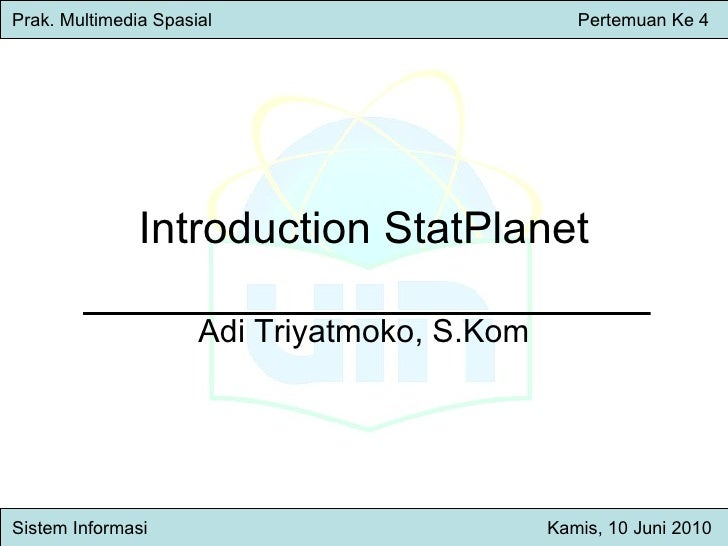 introduction stat planet