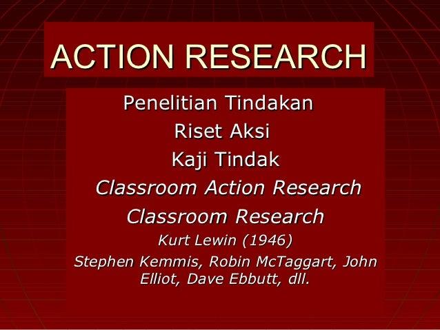 Pertemuan 11   action research