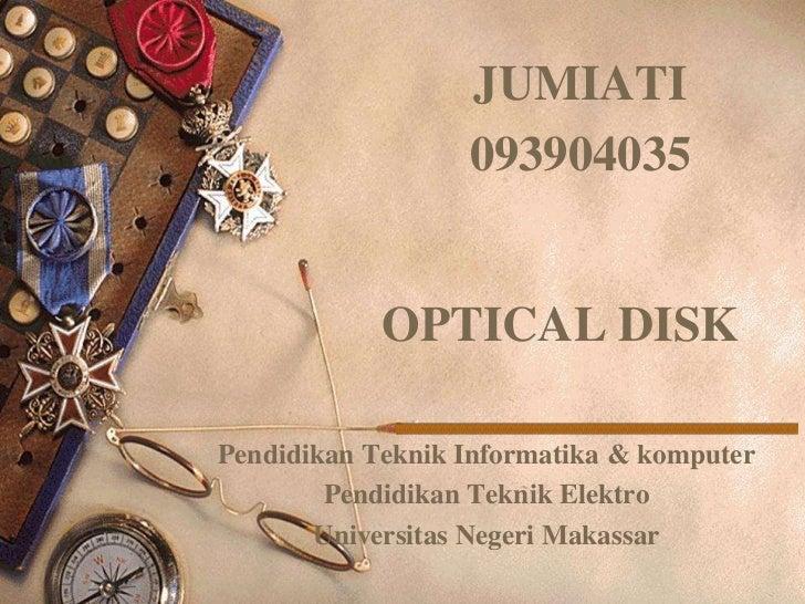 Pertemuan 14 optical disk