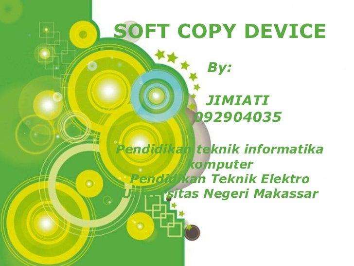 Pertemuan 15 soft copy device