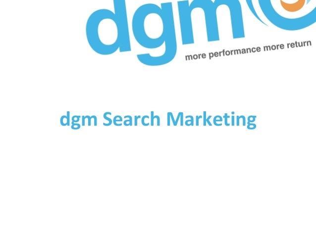dgm Search Marketing