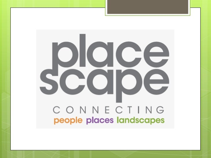 What we do …PlaceScape is committed topromoting the value of urban parksand open spaces that people canenjoy.