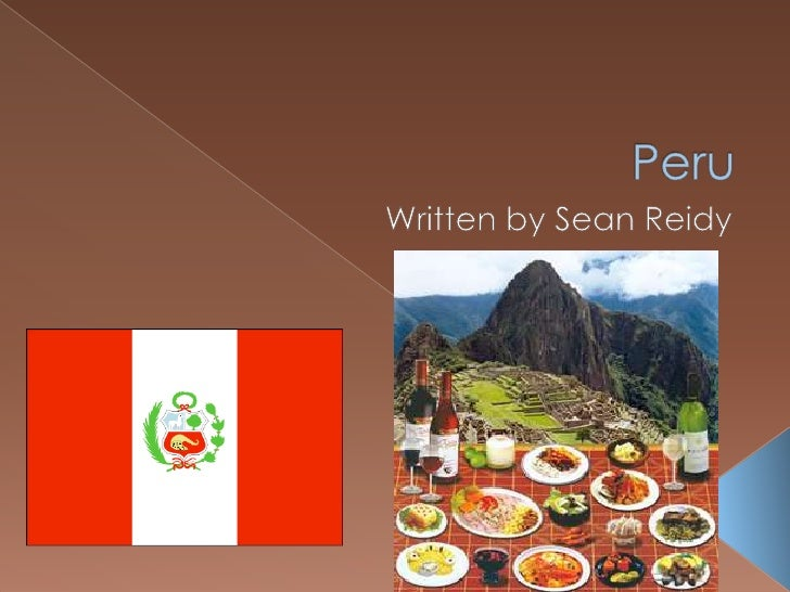    The population of       The Population    Peru is 29,907,003       Density of Peru is 56                             ...