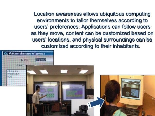 Ubiquitous Computing Applications Ubiquitous Computing