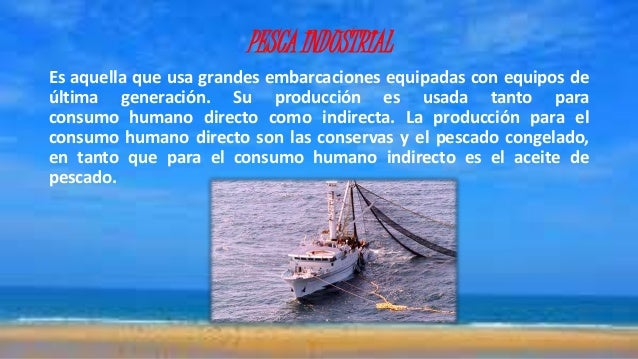 Pesca ilegal en el per for Cria de peces para consumo humano