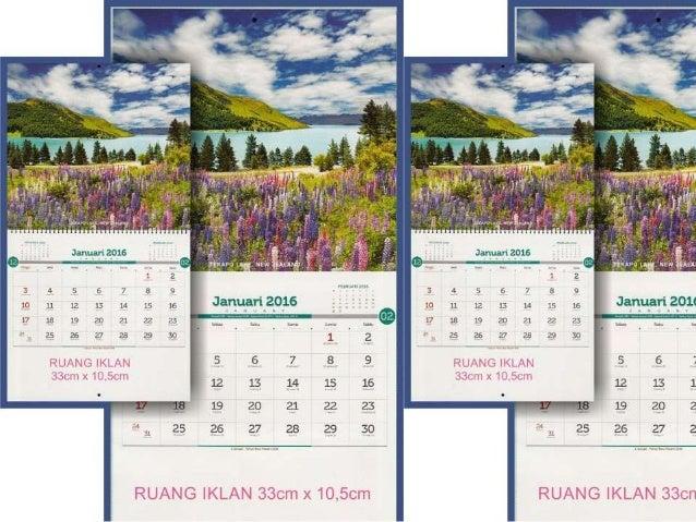Calendar Alam : Kalender executive pesona alam dunia